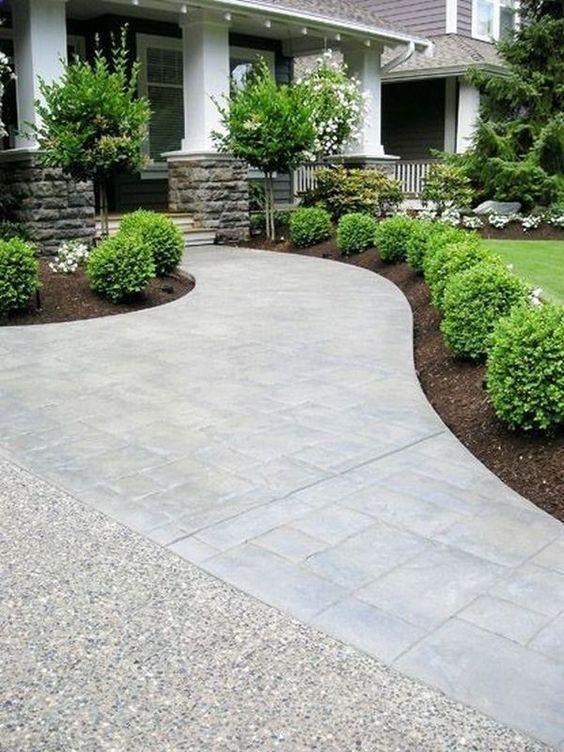 Stamped Concrete Walkway Ideas 1   Difranco Waterproofing