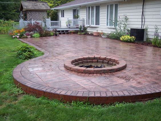 10 Best Stamped Concrete Walkway Ideas For Home