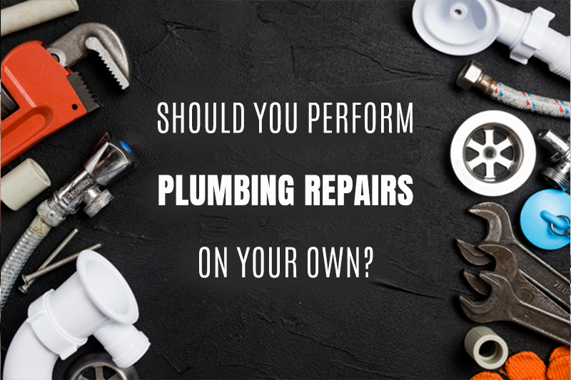Should You Perform Plumbing Repairs On Your Own?